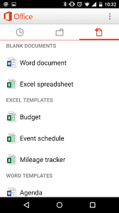 Spreadsheet For Android How To Use Microsoft Office Mobile On Android