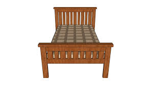 Farmhouse Bed Frame Plans 2x4 Farmhouse Bed Plans Howtospecialist How To Build Step By