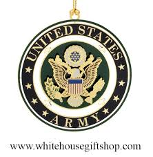 ornaments united states army seal usa