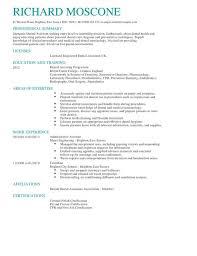cv help dental assistant cv exle for healthcare livecareer