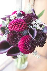 Cheap Wedding Ideas Black Dahlia Wedding Bouquet Red Textured Bouquet Dahlias Roses