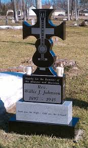 Blind Willie Johnson Songs A Monument To Blind Willie Johnson Placed In The Beaumont Cemetry