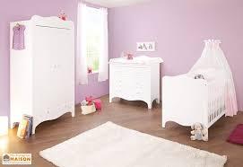 chambre pour bebe chambre de bébé en épicéa massif blanc et or princesse pinolino
