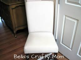 slipcovers for parson chairs s crafty parson s chair slipcover