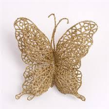 gold butterfly decorations rainforest islands ferry