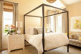 Black Canopy Bed Black And Beige Canopy Bed Design Ideas