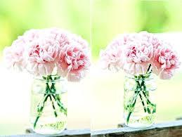 jar flower arrangements carnation floral arrangements eatatjacknjills