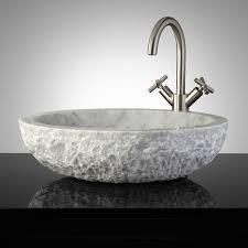 vessel sinks for bathrooms cheap top 64 fantastic oval vessel sink stone bowl narrow ceramic bathroom