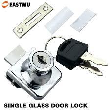 Cabinet Door Display Hardware Glass Door Cabinet With Locks Image For Single Glass Door