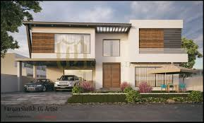 3d renderings 450 sqm house 1 kanal house galleria design