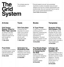 grid layout guide thegridsystem org is a fantastic online resource for typographic