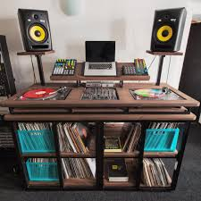 Studio Monitor Desk Stands by See This Instagram Photo By Myqemusic U2022 156 Likes Pallet Desk