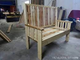 bench made out of pallets garden bench made from pallets