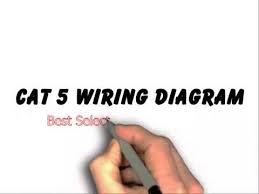 cat 5 wiring diagram youtube