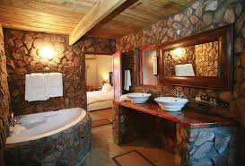 bathroom wood ceiling ideas charming rustic bathroom design ideas abpho