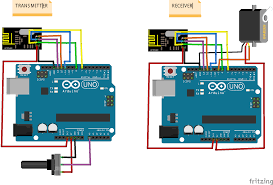 project angle indicator with servo motor and button an arduino jpg