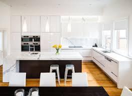 kitchen bench ideas up of modern kitchen island bench with orange accent panel