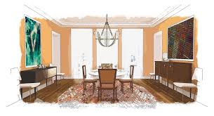 hanover avenue uses bold fall colors in a dining room hanover avenue