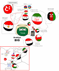 Map Of The Middle East by Polandball Map Of The Middle East Polandball