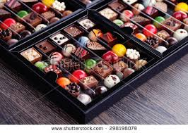 food gift boxes chocolates confectionery gift box sweet food stock photo 223784539