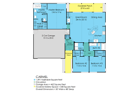 ranch style house plan 3 beds 2 00 baths 1491 sq ft plan 489 1