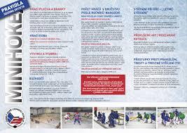 jsouv český svaz ledního hokeje pravidla minihokeje