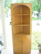 cost to ship a heywood wakefield small corner china cabinet hutch