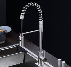 Lead Free Kitchen Faucets Free Shipping Stainless Steel Pull Lead Free Kitchen Mixer