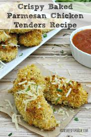 crispy baked parmesan chicken tenders recipe moms need to know