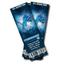 detroit lions free tickets the best in 2017