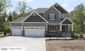 craftsman homes plans sunflower 42040 craftsman home plan at design basics