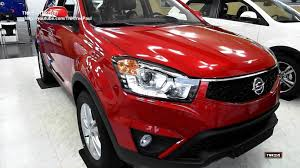 ssangyong korando 2014 ssangyong korando c facelifted 2013 vs 2014 youtube