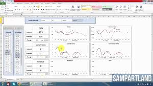 Google Spreadsheets Download Google Analytics Excel Reporting Dashboard How To U0026 Free