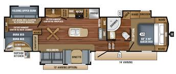 2018 eagle fifth wheel floorplans u0026 prices jayco inc