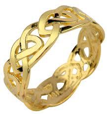 celtic ring gold knot celtic ring