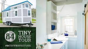 tiny house tour 84 lumber open house the coastal buzz