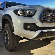 toyota tacoma fog lights 2016 toyota tacoma fog light led pod replacement brackets