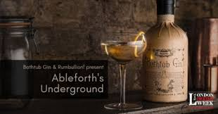 Bathtub And Gin Ableforth U0027s Underground London Cocktail Week U2014 Ableforth U0027s