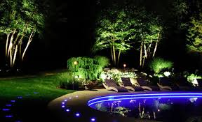 Pool Landscape Lighting Ideas Landscape Lighting Ideas Blue Led Pool Luxury Backyard Lights