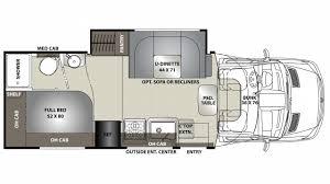Coachmen Class C Motorhome Floor Plans Coachmen Prism Elite 24ej Diesel Class C Motorhome Floor Plan