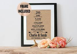 20th anniversary gift 20th wedding anniversary gift ideas for lading for