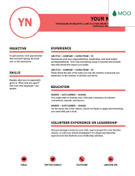 Resume Edit Format Polished Resume Designed By Moo Office Templates