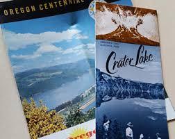 centennial celebration souvenir booklet oregon centennial etsy