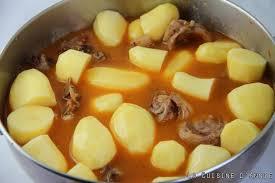 comment cuisiner le collier d agneau recette navarin d agneau aux pommes de terre la cuisine