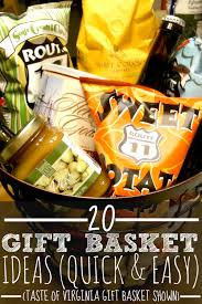 gift baskets 20 20 gift basket ideas for every occasion thoughtful cheap and