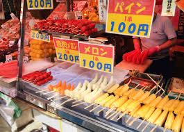 cheap items at ameyoko taiken japan