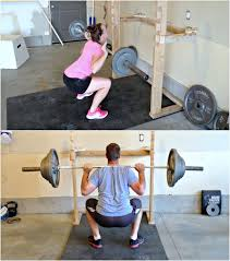 simply sadie jane u2013 diy squatrack and pull up bar crossfit