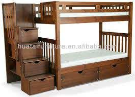 Flexible Solid Pine Wood Kids Bunk Bed Stable Boys Or Girls Solid - Solid wood bunk bed