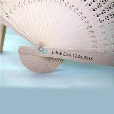 personalized folding fans for weddings fan favors wedding personalized tomahawks info