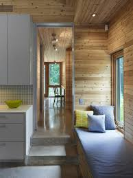 incredible modern cabin house design using unfinished knotty pine